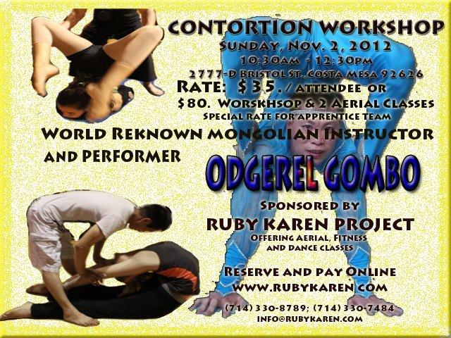training asia contortion